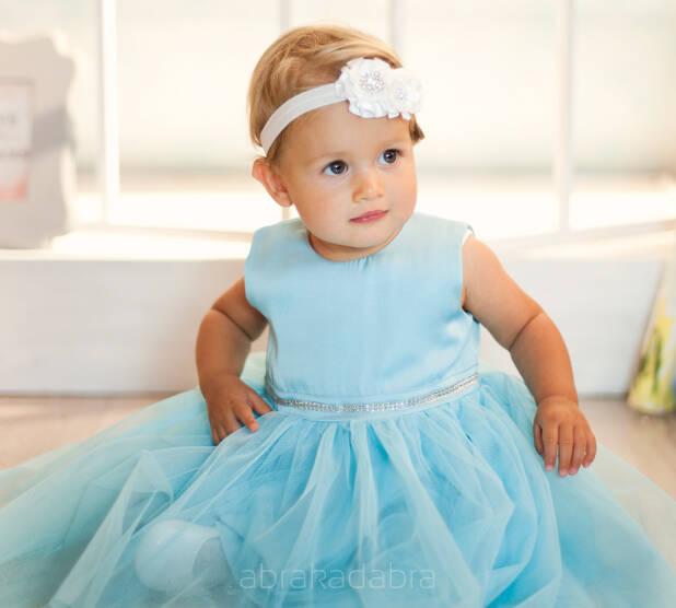 42d5d785f7806e Sukienka Gabrysia turkusowa