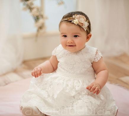 164dec54e6 Sukienki na chrzest dla dziewczynek