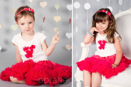Tutu Pettit Skirt Love & Joy malina 0-2latka