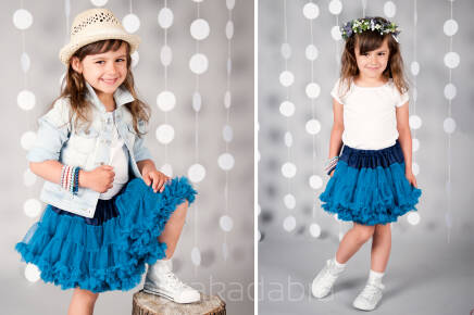 Tutu Pettit Skirt  Love & Joy granat 0-2lata