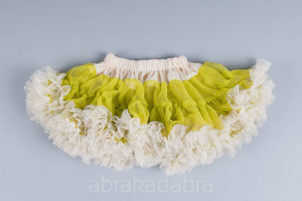 Tutu Pettit Skirt Love & Joy limonka 2-4latka